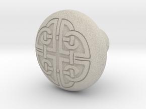 DORADO door knob in Natural Sandstone