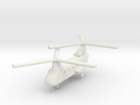 1/285 CH-46D Sea Knight (x1) in White Natural Versatile Plastic