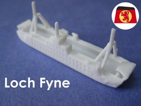 MV Loch Fyne & Loch Dunvegan (1:1200) in White Strong & Flexible