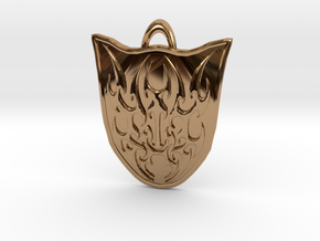 Ainmeer Crest in Polished Brass