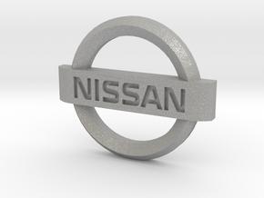 Nissan Flipkey Logo Badge Emblem in Aluminum