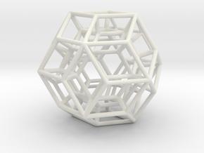 Geometric Shape Mht3dd 045 5cm in White Strong & Flexible