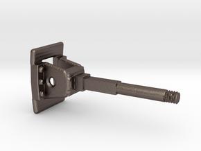 Rollbock Puffer 7x4 V1.7 in Polished Bronzed Silver Steel