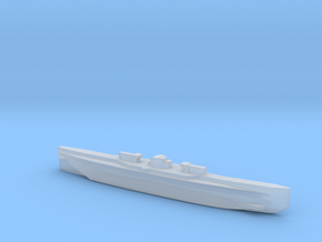 U151, Full Hull, 1/1800 in Smooth Fine Detail Plastic