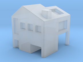 Monopoly house in Smooth Fine Detail Plastic