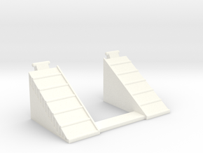 M.A.S.K Ramp-Up small ramp (8 of 15) in White Strong & Flexible Polished