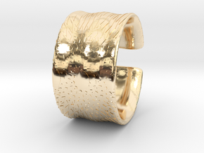 Flowercut2 in 14K Yellow Gold
