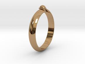 Ø18.19 mm /Ø0.716 inch Arrow Ring Style 2 in Polished Brass