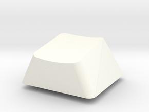 Topre Key - row B in White Processed Versatile Plastic