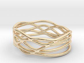 King Trophy Ring (Size 4.5--14.8mm dia)R S1 010200 in 14K Yellow Gold