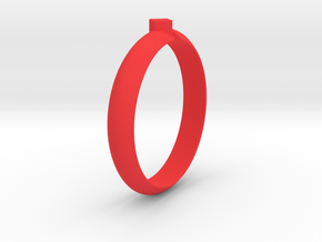 Ø18.19 Mm Design Special Arrow Ring/Ø0.716 inch in Red Processed Versatile Plastic