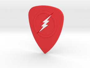 The Flash Pick in Red Processed Versatile Plastic