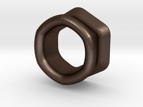 3D+ in Matte Bronze Steel