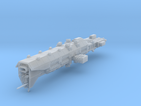 EA Guided Missile Battlecruiser Fleet Scale in Smooth Fine Detail Plastic