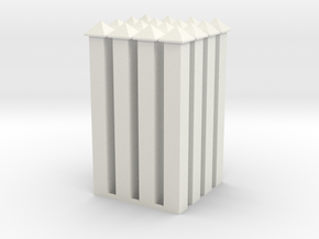 WallPost-new-hollow in White Natural Versatile Plastic