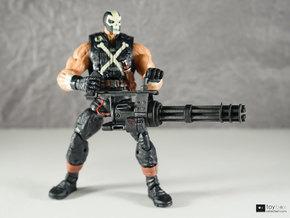 1:12 Minigun for Marvel Legends Crossbones in White Natural Versatile Plastic