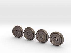 Rollbock Raeder 4mm V3.1.1 in Stainless Steel