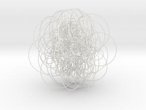 40 in White Natural Versatile Plastic