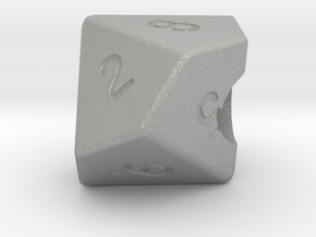 """Geek Beads"" 10 sided die in Aluminum"