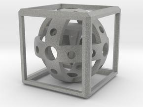3D Magic Box in Metallic Plastic