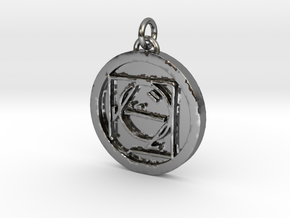 23S – IX ESCAPING DOCTRINE  in Fine Detail Polished Silver