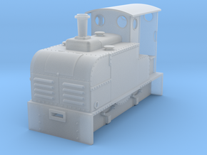 On18/O9 Ruston Proctor Oil loco  in Smooth Fine Detail Plastic