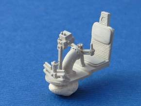YT1300 DEAGO TURRET GUN WELL SEAT in Smooth Fine Detail Plastic