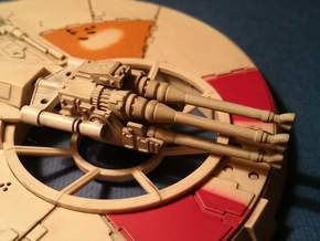 MILLENNIUM DEAGO LASER CANNON  in Frosted Ultra Detail