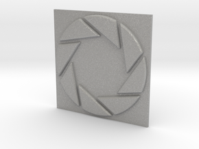 Aperture Laboratories Keychain in Aluminum