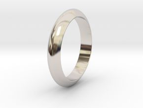 Ø23.06 Mm Functional Design Ring Ø0.907 Inch in Platinum