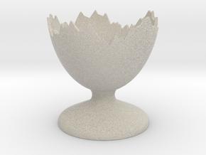 shellegg in Natural Sandstone