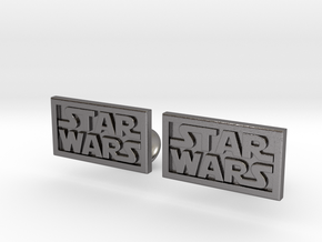 Starwars Cuffliinks in Polished Nickel Steel