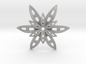 Star Pendant in Aluminum