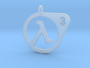 Half Life 3 Confirmed Pendant in Smooth Fine Detail Plastic