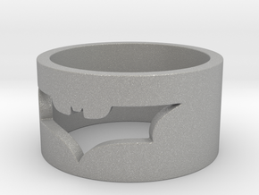 Batman Ring Size 10 in Aluminum
