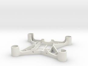 60mm Hubsan X4 frame for 8,5mm motors in White Natural Versatile Plastic