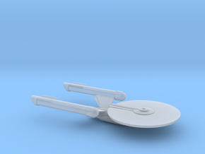 USS Premire 1/2500 scale starship in Smooth Fine Detail Plastic