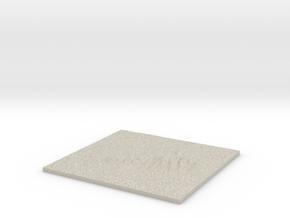 Model of Somes Sound in Sandstone