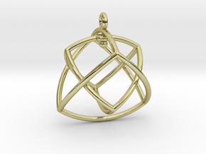 TETRAHEDRON STAR Earrings Nº1 in 18k Gold Plated Brass