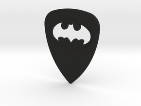 Batman Guitar Pick in Black Natural Versatile Plastic
