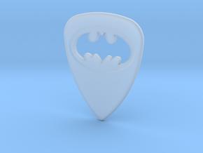 Batman Guitar Pick in Smooth Fine Detail Plastic