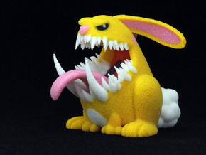 Monster Bunny #3 - Small Eyes in Full Color Sandstone