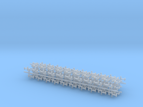 100 Rapido coupler 5mm shafts N Gauge 230216 in Frosted Ultra Detail