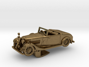 Bentley 1930 4,5L 1:64 in Natural Bronze