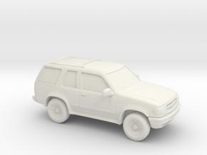 1/87 1995-97 Ford Explorer Sport 3 Door in White Natural Versatile Plastic