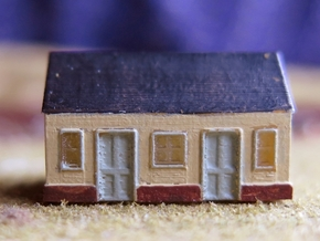 1/450 Station Building in Frosted Ultra Detail