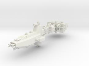 EA Battlecruiser Large in White Strong & Flexible