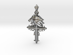 Leo-custom made in Fine Detail Polished Silver