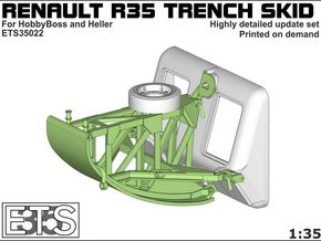 ETS35022 - Renault R35 Trench Skid #1 [1:35] in Frosted Ultra Detail
