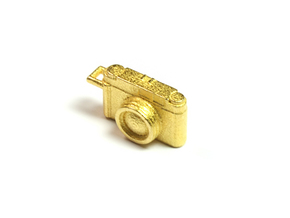 Fujifilm camera in Polished Gold Steel